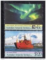 Antarctique Australien N° 88 / 89 XX 30ème Anniversaire Du Traité Sur L Antarctique  La Paire Sans Charnière TB - Australian Antarctic Territory (AAT)