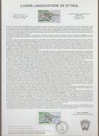 "TAAF : Superbe Encart ""L'usine Langoustière De Saint Paul"" - Neuf - 2003 - - French Southern And Antarctic Territories (TAAF)"