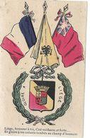 Belgique LIEGE Gloire à LIEGE Militaria  ...G - Liège