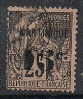 MARTINIQUE N°17 - Guyane Française (1886-1949)
