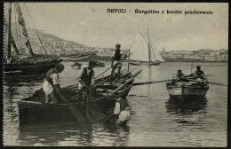 RB 1192 - Early Postcard - Mergellina E Burche Peschereccie - Napoli Italy - Napoli (Naples)