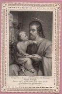 Images Religieuses , Canivet  : St-Joseph - Imágenes Religiosas