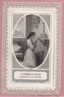 Images Religieuses , Canivet  : La Prière Du Matin - Imágenes Religiosas