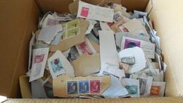 1,400kg Timbres En Vrac Que Du Luxembourg A Décoller - Stamps