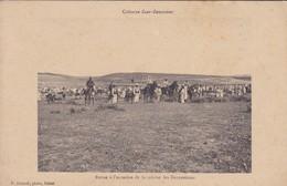 MAROC--Colonne ZAER-ZEMMOUR--revue à Occasion De La Remise Des Décorations--campagne Du Maroc 1912-13--voir 2 Scans - Maroc