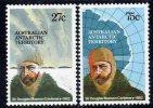 Antarctique Australien N° 53/54 XX 100ème Anniversaire De La Naissance De Sir Douglas Mawson Sans Charnière TB - Unused Stamps