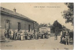 Camp De Mailly - En Attendant Les Lettres - Mailly-le-Camp