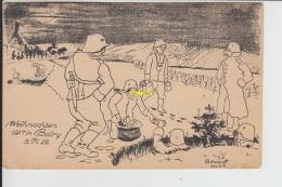 Boiry Notre Dame Chapelle Noel 1917 - Autres Communes