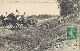 Camp De Mailly - Artillerie De Campagne - Passage D'un Fossé - Mailly-le-Camp