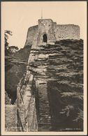 The Keep From The Walls, Carisbrooke Castle, Isle Of Wight, C.1950 - Ministry Of Works RP Postcard - England