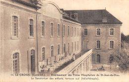 Le Croisic (44) - Etablissement Des Frères Hospitaliers - Le Sanatorium Des Enfants - Terrasse Sud - Le Croisic