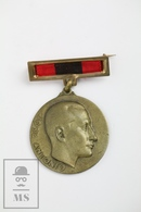 Spanish 25 Anniversary Medal - Jose Antonio - Fascist Political Party JONS - Royal/Of Nobility
