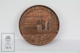 Bronze Medal Royal Barcelona Yacht Club 1991 - Spanish Battleship Alfonso XIII - Spain
