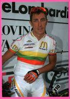 Cycliste - Cyclisme - DAINUS KLAIRELIS - Champion De Littuanie 2006 - CARRERA - Sponsor - Pub - Ciclismo