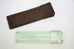 Vintage Slide Rule With Case - Schlafhorft Autoconer - Other