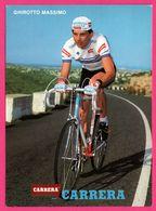 Cycliste - Cyclisme - GHIROTTO MASSIMO - CARRERA - Sponsor - Pub - Cycling