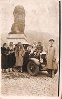 Carte Photo Animée Oldtimer +/- 1930 - Gileppe (Barrage)