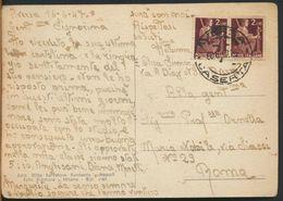 °°° 10842 - AVERSA - VILLA COMUNALE (CE) 1947 °°° - Aversa