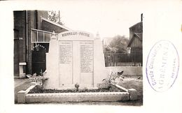 Carte Photo Cercle Croix-Jurlot, Monument Aux Morts 1940-45 - Herstal