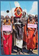 KENYA NAIROBI MASAI DANCERS 1966 - Kenya