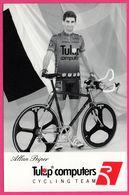 Cycliste - Cyclisme - ALLAN PEIPER - Tulip Computers - Sponsor - Pub - Cycling
