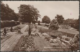 Beauchief Gardens, Sheffield, Yorkshire, 1962 - RP Postcard - Sheffield