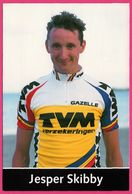 Cycliste - Cyclisme - JESPER SKIBBY - TVM - Sponsor - Pub - Ciclismo