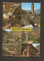 Postal Andorra Valls D'Andorra Usada 1977 - Andorra