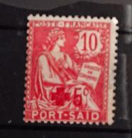 Port Said - Bureaux Français 1902 YT 35 Croix Rouge Neuf Avec Charnière - Port-Saïd (1899-1931)
