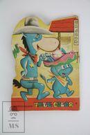 Vintage Hanna Barbera Children Die Cut Book - Quick Draw McGraw - Otros