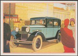 Art Deco, Vintage Motor Car, XY 479 - J Arthur Dixon Postcard - Passenger Cars