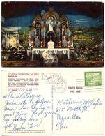 Canal Zone 1960 Postcard Church Altar, Howard Air Force Base To U.S., Scott C27 - Canal Zone