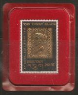 Butan, Bhoutan - Bhutan,  1996 Timbre Or Neuf** TB Sous Blister D'origine Non Ouvert The Penny Black - Départ Petit Prix - Bhutan