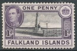 Falkland Islands. 1938-50 KGVI. 1d MH. SG 148 - Falkland Islands
