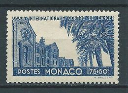 MONACO 1938 . N° 168 . Neuf * (MH) - Neufs