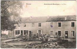 Carte Postale Ancienne De AMERMONT-BOULIGNY-La Place - Other Municipalities