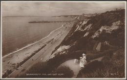 Bournemouth Pier And East Cliff, Hampshire, 1921 - Valentine's RP Postcard - Bournemouth (until 1972)