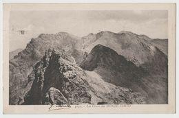 CPA Les Cimes De Monte Cinto - CORSE - Moretti - Unclassified