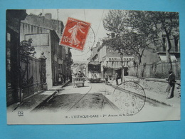 13 - Marseille - L'Estaque - 2ème Avenue De La Gare - 1911 - L'Estaque