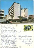 Kenya 1970 Postcard Nairobi - New Stanley Hotel, Mtito Andei To U.S., Scott 30 - Kenya