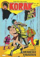 Korak Tarzans Søn N° 6 – Menneskeknuseren (in Danish) Winthers Forlag ApS - 1977 - Limite Neuf - Langues Scandinaves