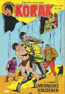 Korak Tarzans Søn N° 6 – Menneskeknuseren (in Danish) Winthers Forlag ApS - 1977 - Limite Neuf - Scandinavian Languages