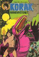 Korak Tarzans Søn N° 8 – Månemysteriet (in Danish) Winthers Forlag ApS - 1977 - Limite Neuf - Books, Magazines, Comics