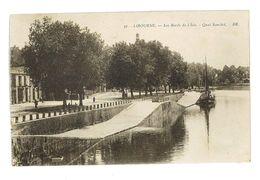 CPA 33 LIBOURNE LES BORDS DE L'ISLE - Libourne