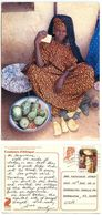 Senegal 1980's Postcard Vegetable Seller, To U.S., Scott 532 & 563 Women - Senegal