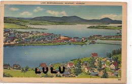 ETATS UNIS :  Toilée : VT Vermont Lake Memphremagog Newport - Etats-Unis