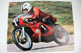 Vintage 1970's Angel Nieto - Derbi Motorcycle Racing Poster - Other