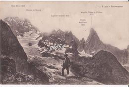 Aosta Courmayeur Monte Bianco Alpinismo Animata - Italy