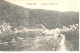 Stavelot - CPA - Passerelle De Châlles - Stavelot