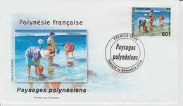 Polynésie Française 2004 Paysages 735 - FDC